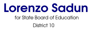 Lorenzo Sadun for State Board of Education: District 10